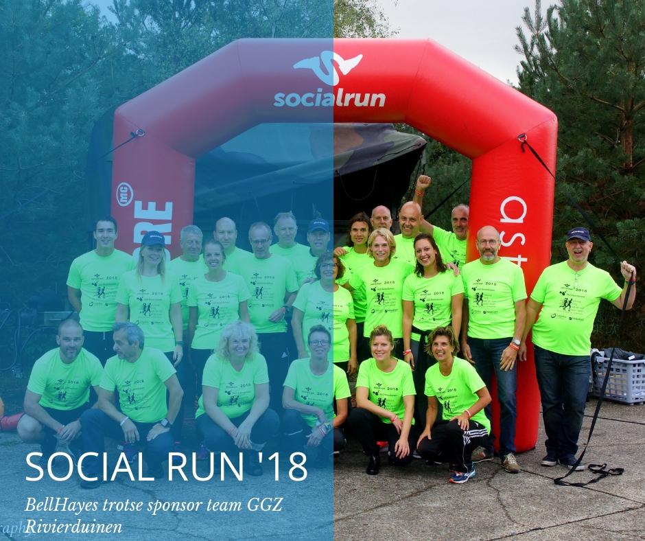 GGZ Rivierduinen succesvol tijdens de Social Run 2018