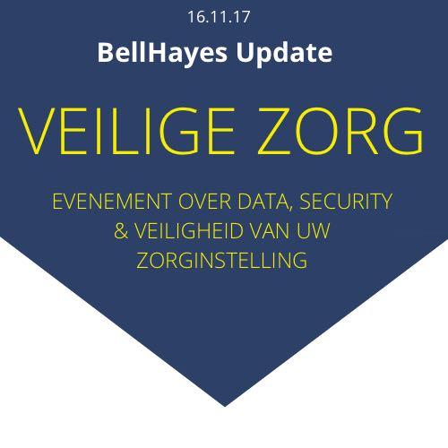 Aanmelden BellHayes Update : Veiligheid in de zorg